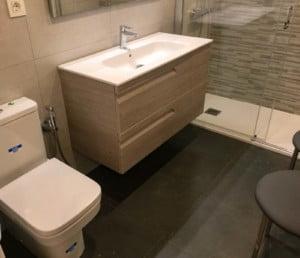 Baño después de la reforma