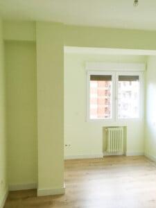 Habitación después de la reforma