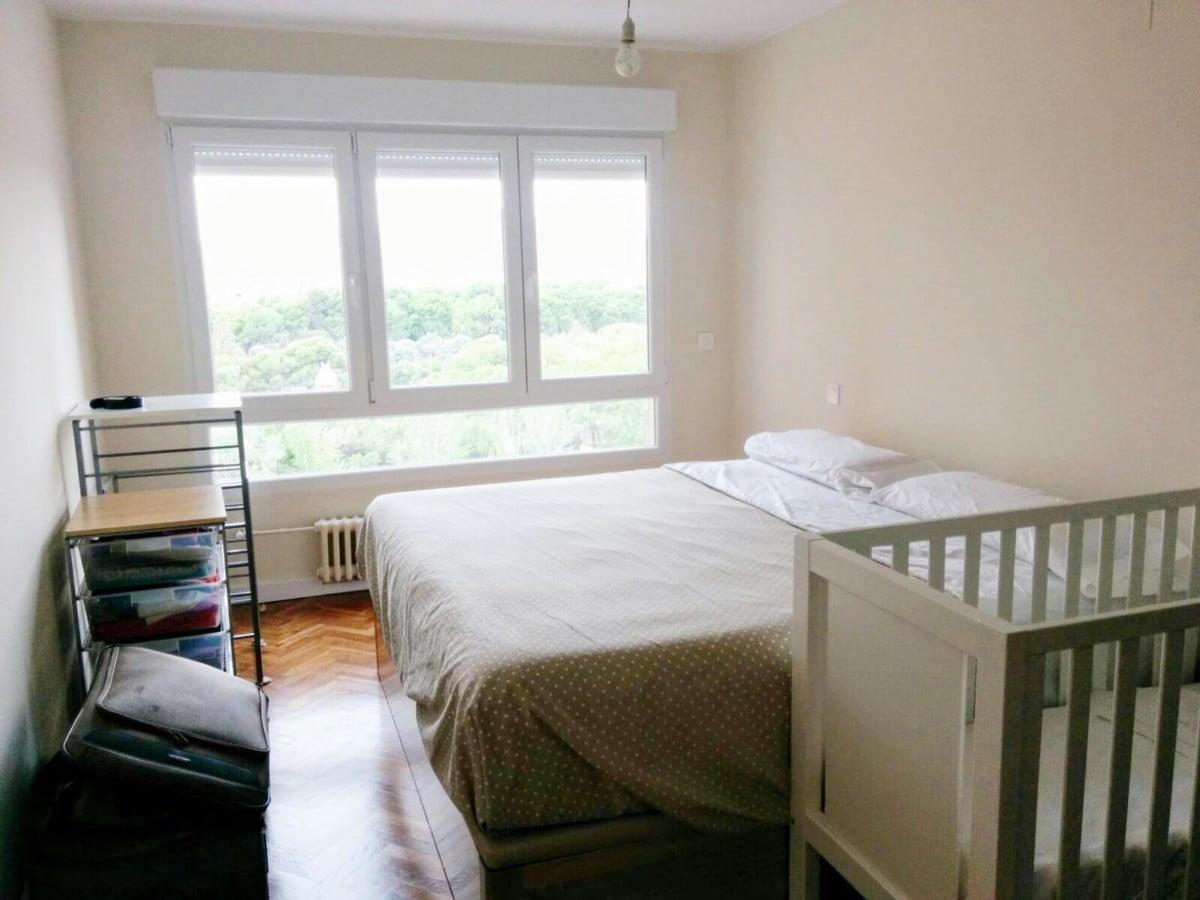 Dormitorio después de la reforma
